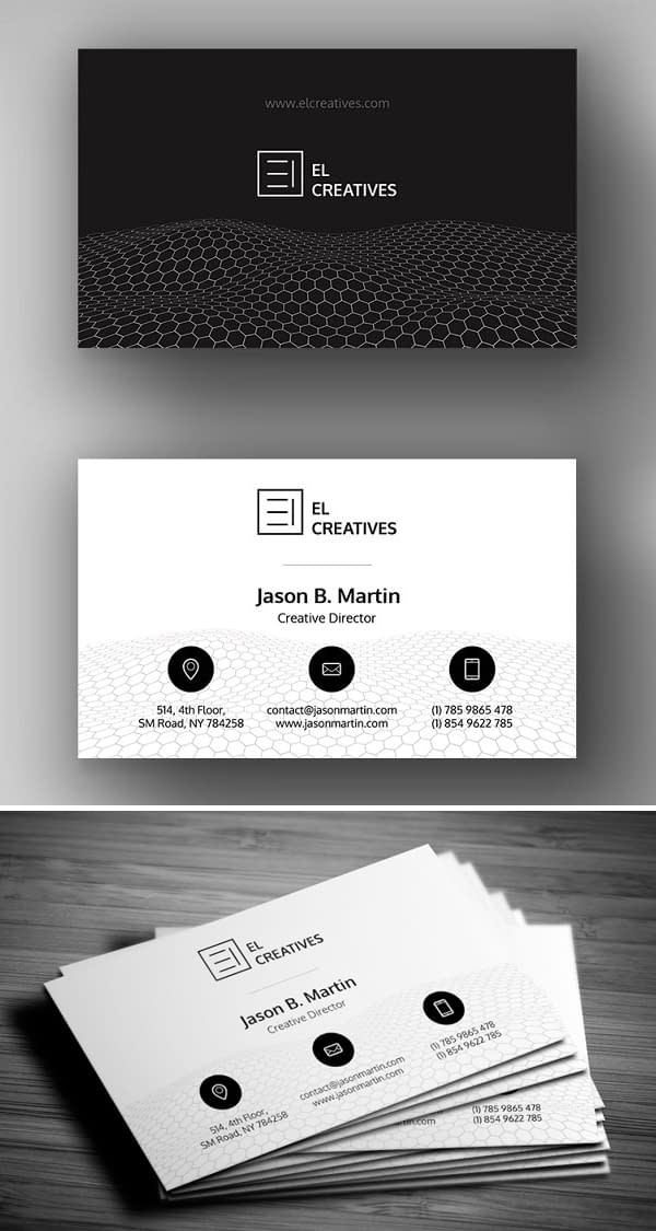 Clean & Corporate Business Card