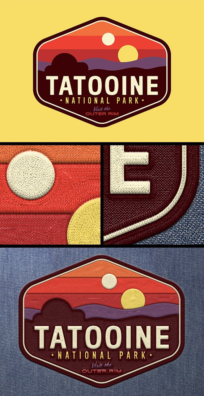 How to Create an Embroidered Patch Design in Illustrator