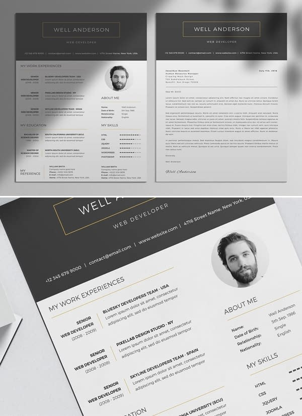 WELL - Resume Template