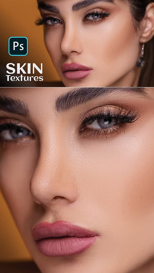 Learn How to Refined Skin Textures With Skin Retouching in Photoshop Tutorial