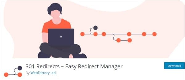 301 Redirects plugin