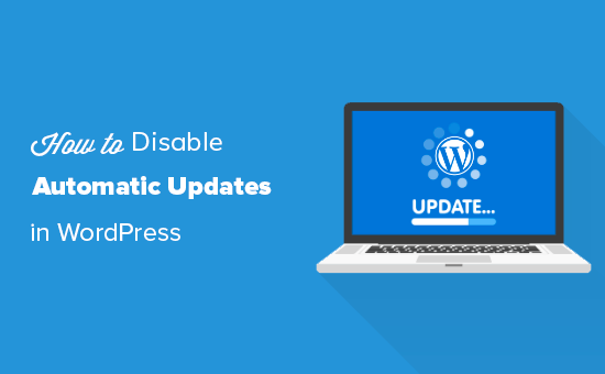 Disabling automatic updates in WordPress