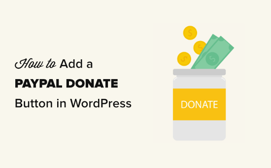 Adding a PayPal donate button in WordPress
