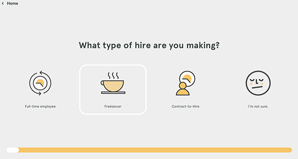 Developers of Hire questionnaire.