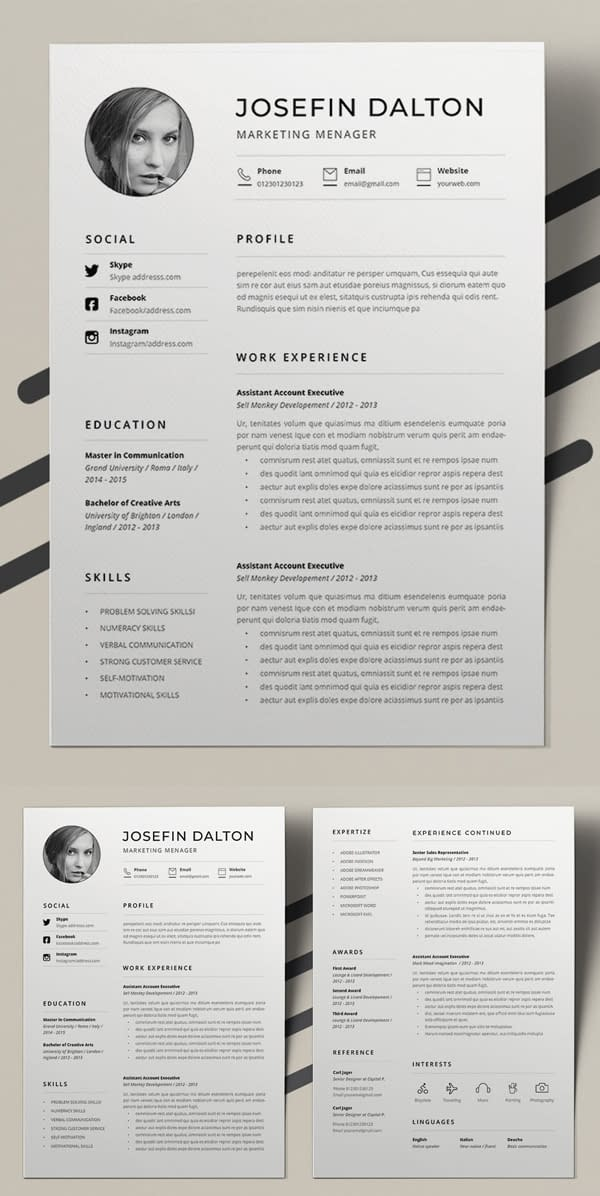 Best Word Resume Template