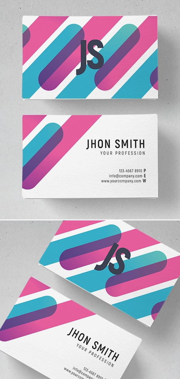 Coloring Business Card Design