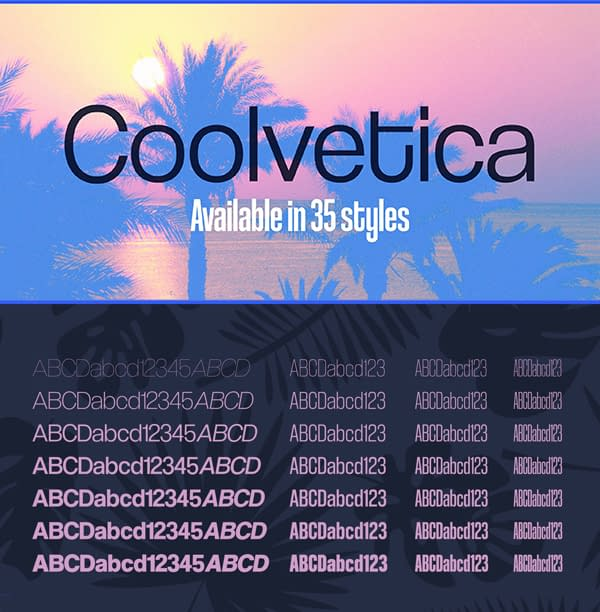 Coolvetica Free Font