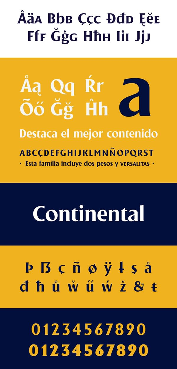Gilland Free Font Letters