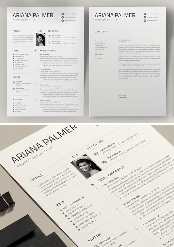 Creative Word Resume / Cv