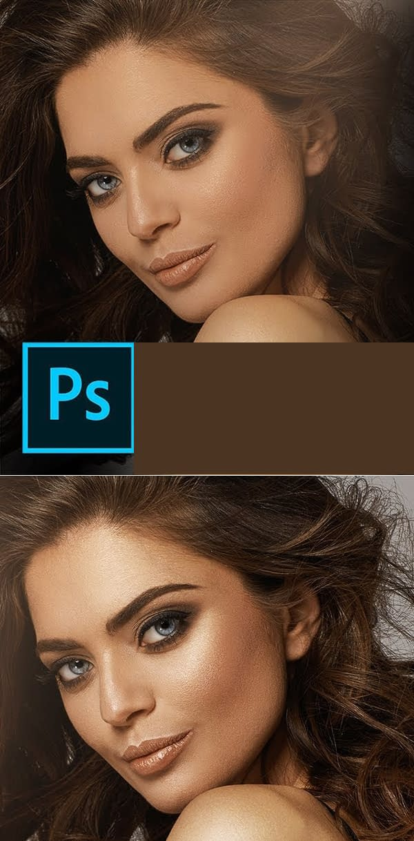 How to Add Shine & Glamour to Skin in Photoshop Tutorial
